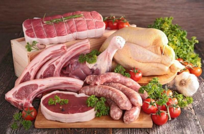 κρέας εβδομαδιαία κατανάλωση