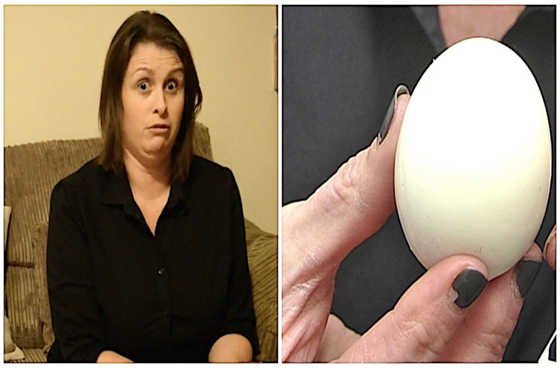 Δάγκωσε αυτό το βραστό αυγό και πήγε να σπάσει τα δόντια της - Προσοχή σε αυτά τα αυγά
