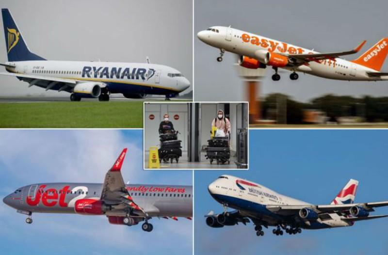 «Βόμβα» από EasyJet, TUI, Ryanair, Jet2 και British Airways