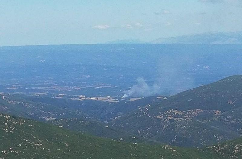 Ηλεία: Εικόνες από τη φωτιά στο χωριό Σέκουλα