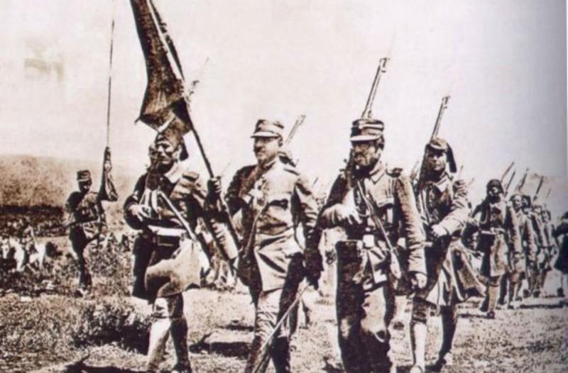 Η Ελλάδα εισέρχεται επισήμως στον Α' Παγκόσμιο Πόλεμο