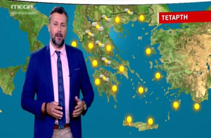 «Καμπανάκι» Γιάννη Καλλιάνου: Μέχρι τότε θα παραμείνει ο καύσωνας (Video)