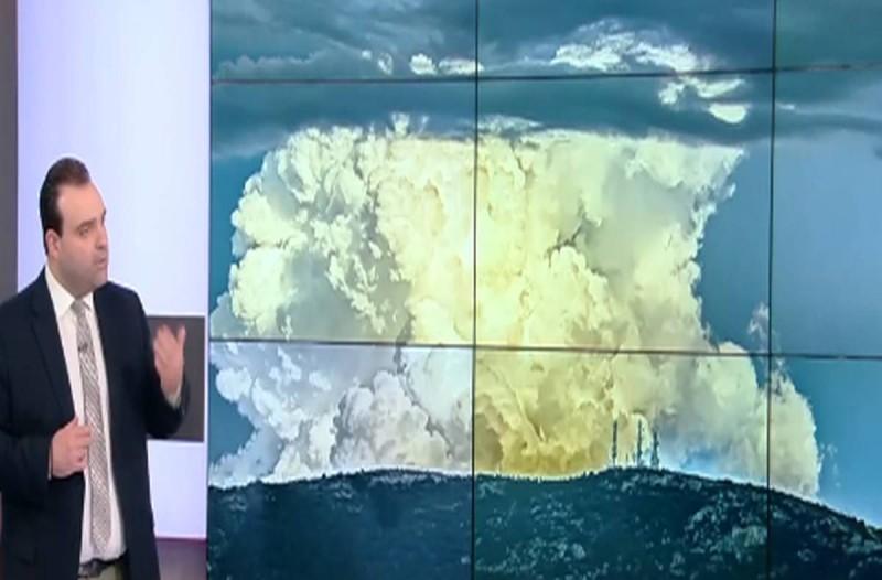 Κλέαρχος Μαρουσάκης: Άστατος ο καιρός με βροχές και καταιγίδες