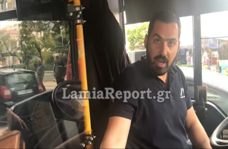 Λαμία: Έδειραν οδηγό για τον πιο απίστευτο λόγο