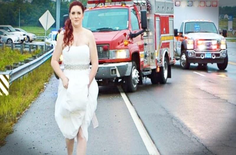 Η φωτογραφία της νύφης έχει προκαλέσει χαμό στο διαδίκτυο - Μόλις δείτε τι έκανε...