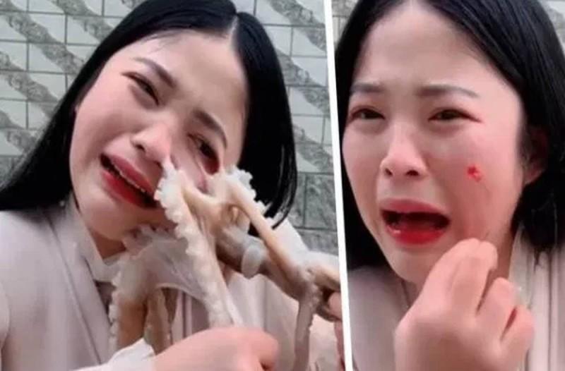 Χταπόδι επιτέθηκε σε γυναίκα όταν αυτή προσπάθησε να το φάει ζωντανό! (video)