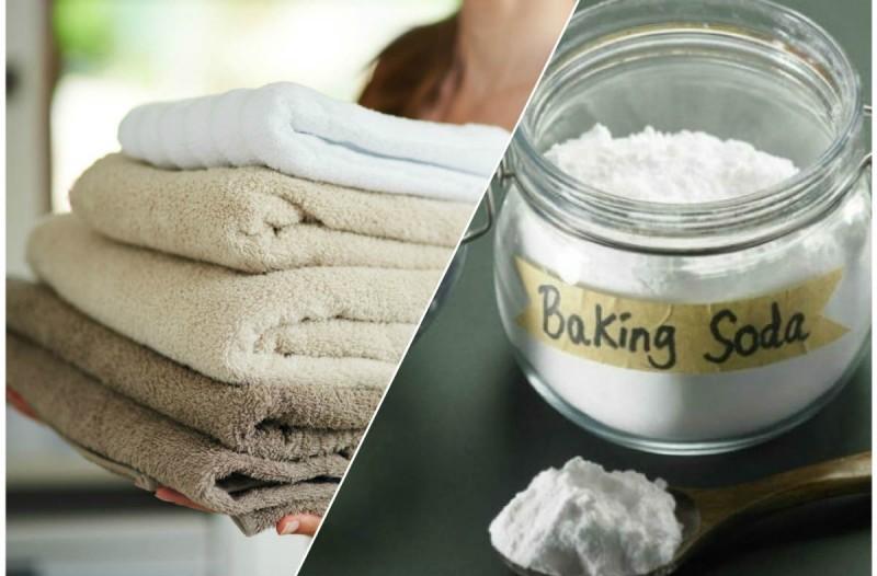 Έριξε μαγειρική σόδα στις πετσέτες της - Ο λόγος; Απίστευτος