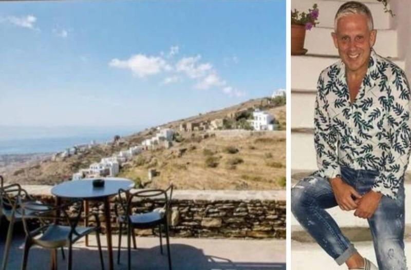 Τάσος Δούσης στην Τήνο: Το ξενοδοχείο όνειρο με βαθμολογία 9,2