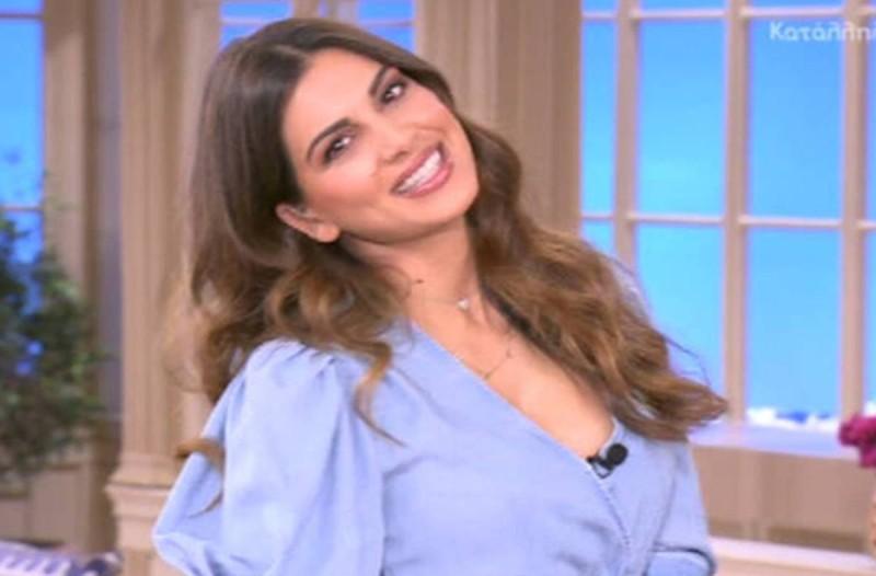 Σταματίνα Τσιμτσιλή: Ανακοίνωσε τα ευχάριστα on air - Σε πελάγη ευτυχίας