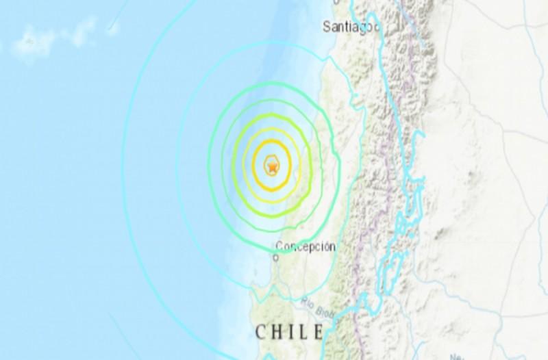 Σεισμός 6,8 Ρίχτερ στη Χιλή
