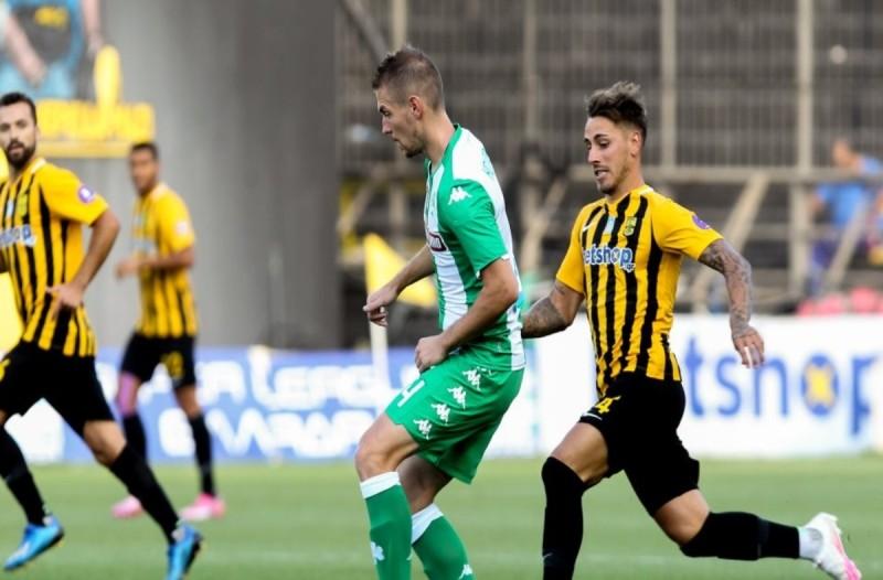 Super League 1, Play offs, Άρης-Παναθηναϊκός: 0-1: Κέρδισε και τον διαιτητή το τριφύλλι!