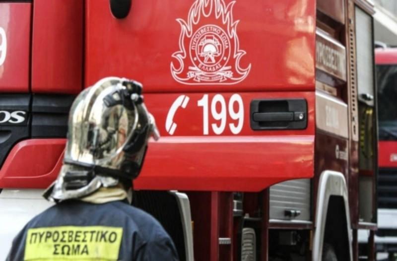 Φωτιά στο Παγανή στη Λέσβο
