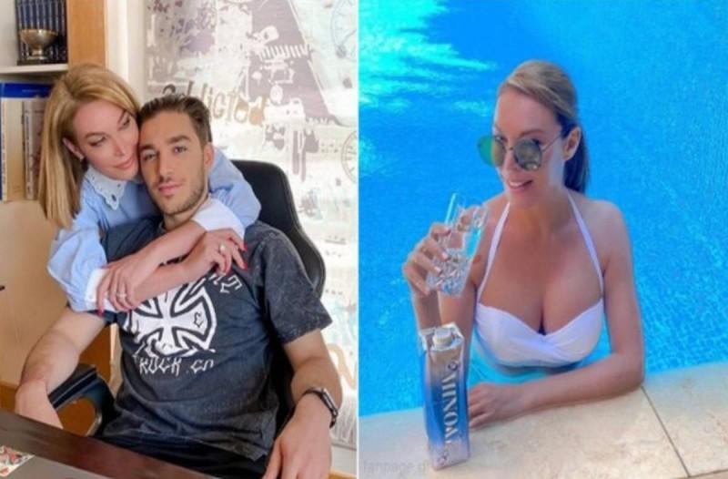 Τατιάνα Στεφανίδου: Με λευκό μπικίνι στην πισίνα του σπιτιού της – Αρετουσάριστες φωτογραφίες