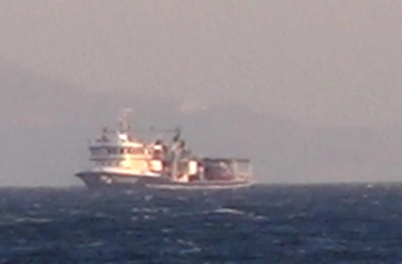 Το τραβάνε κι άλλο οι Τούρκοι: Τρομερό βίντεο με αλιευτικά τους ανοικτά της Μυκόνου