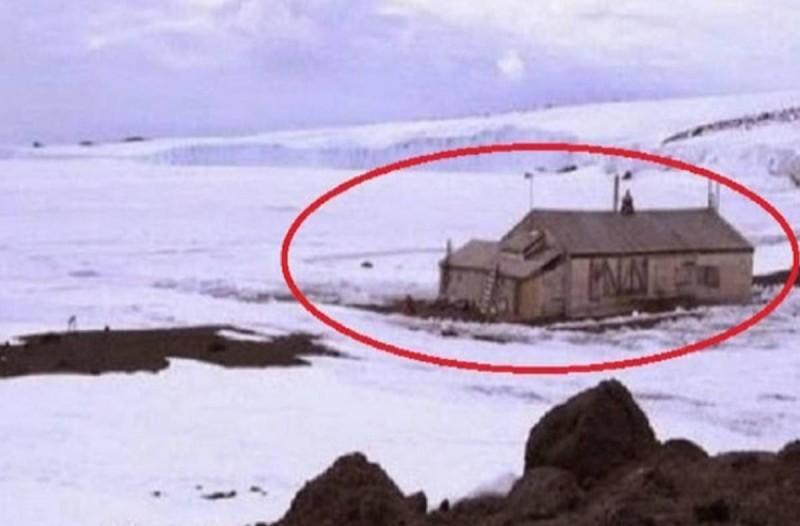 Βρήκαν ένα σπίτι στα βάθη της παγωμένης Ανταρκτικής, στους -93 °C: Δεν φαντάζεστε τι είδαν μέσα!