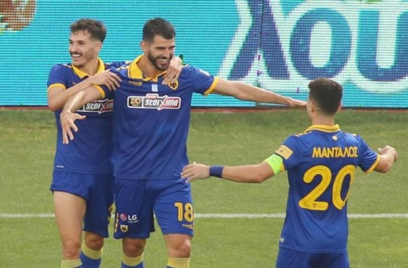 Super League 1 Play offs, Άρης-ΑΕΚ 1-4: Μεγάλο προβάδισμα