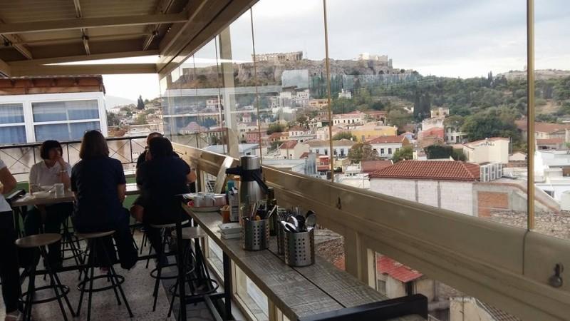 athen style ακροπολη για καφε