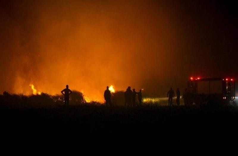 Πυρκαγιά στην Ηλεία: Ραγδαίες εξελίξεις