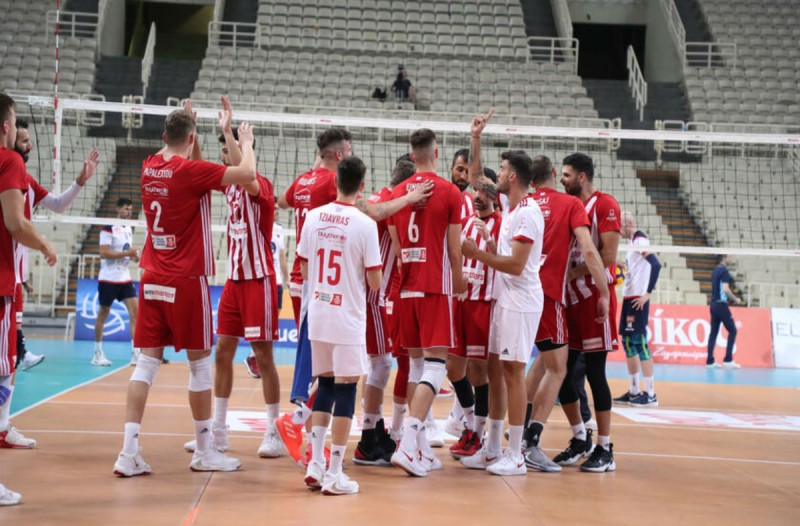 Volley League: Δυναμικό comeback για τον Ολυμπιακό - 3-0 απέναντι στο Φοίνικα Σύρου