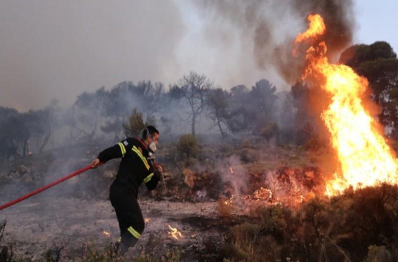 Ζουν μέρες... 2007 στην Ηλεία: Απειλούνται τρία χωριά από την πυρκαγιά