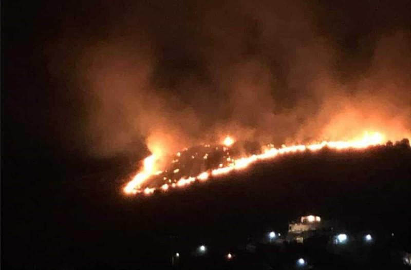 Φωτιά στο Πέραμα: Δεν υπάρχει ενεργό μέτωπο - Συνελήφθη ένας ύποπτος για εμπρησμό