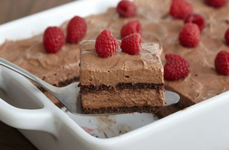 Σοκολατένιο γλυκό ψυγείου της στιγμής - Με 5 υλικά