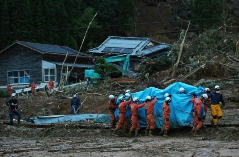 Ιαπωνία: 34 νεκροί από τις καταρρακτώδεις βροχές