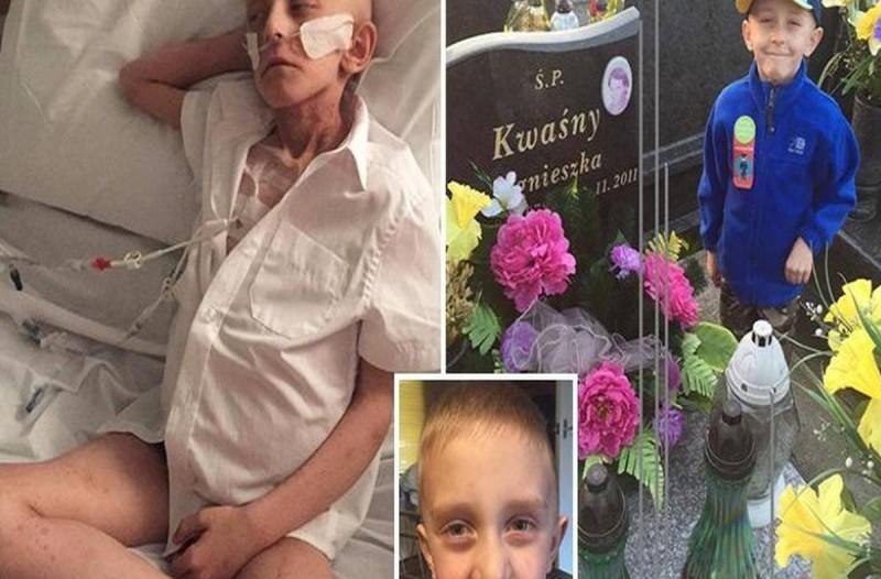 «Θάψτε με στο φέρετρο με τη μαμά μου»: Η τελευταία επιθυμία ενός ετοιμοθάνατου 7χρονου καρκινοπαθή