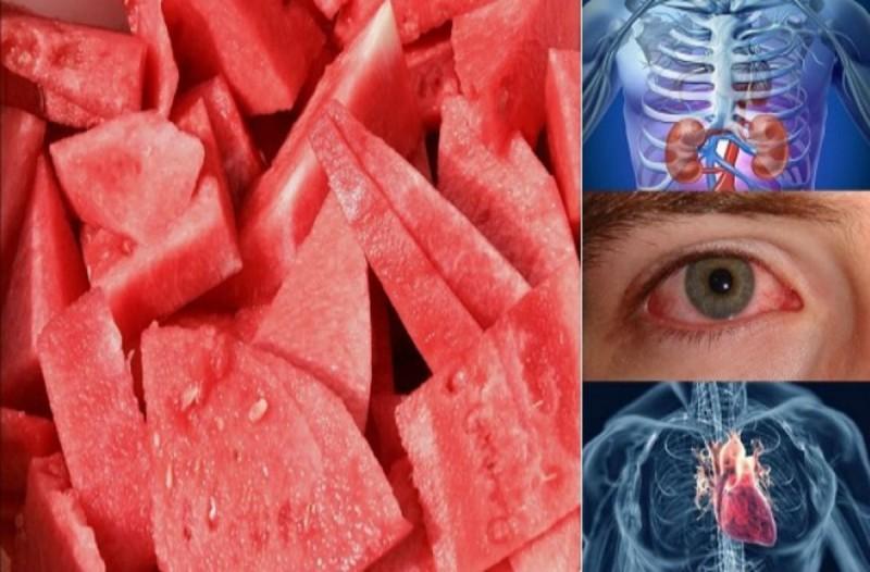 Δείτε τι θα συμβεί στο σώμα σας αν τρώτε μια φέτα καρπούζι κάθε μέρα για μια εβδομάδα!
