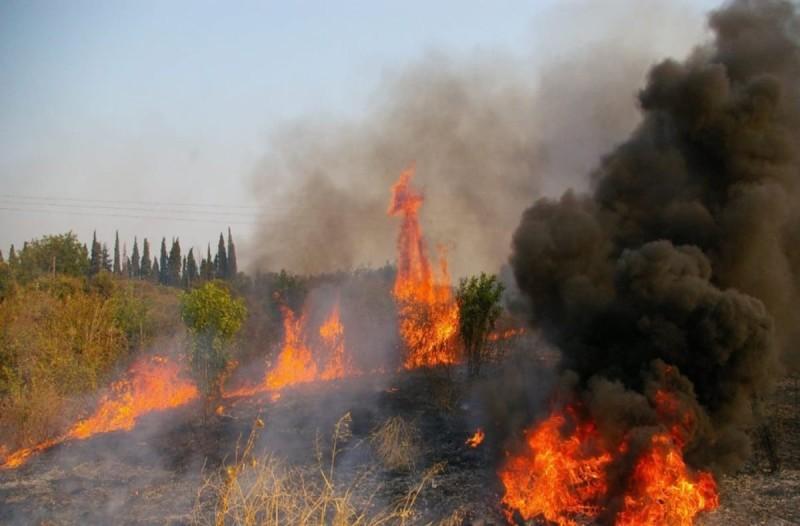 Φωτιά στο ΧΥΤΑ στην Κέρκυρα