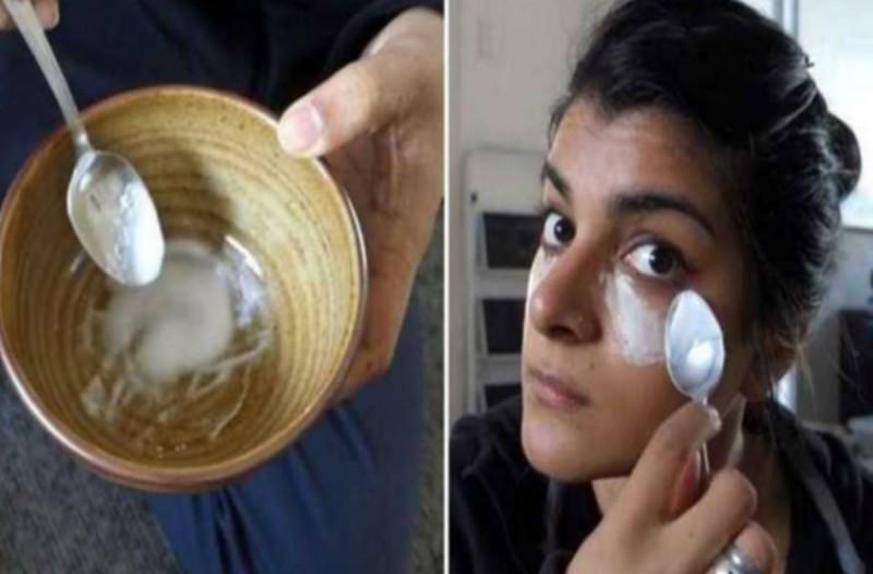 Αυτή η κοπέλα τρίβει το πρόσωπό της με μαγειρική σόδα 3 φορές την εβδομάδα. Τα αποτελέσματα είναι απίστευτα!
