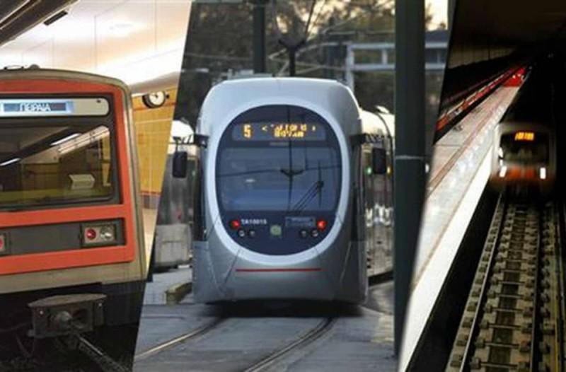 Μειωμένα δρομολόγια σε Μετρό, ΗΣΑΠ και Τραμ - Το θερινό πρόγραμμα