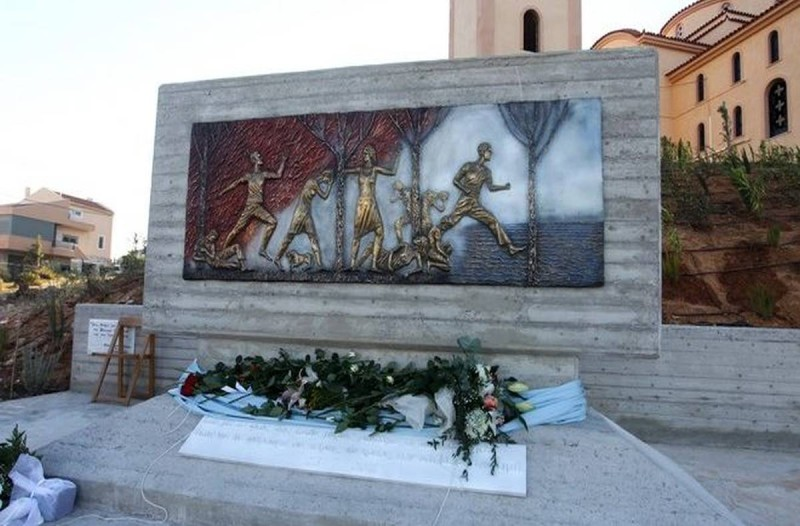 Η φωτογραφία της ημέρας: Μνημείο για τα 102 θύματα από την πυρκαγιά στο Μάτι!