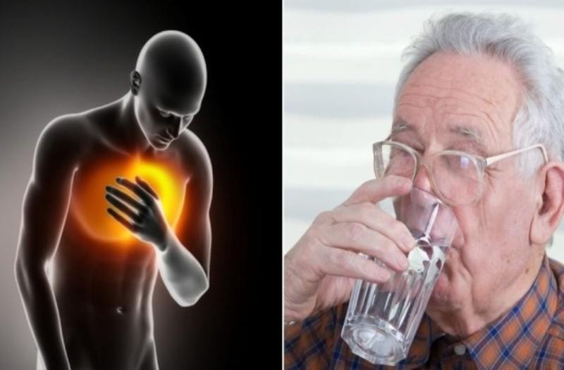 Ο άγνωστος ρόλος που παίζει το νερό στην καρδιακή προσβολή - Δώστε προσοχή