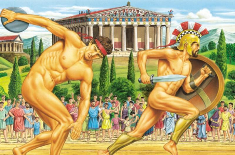Αρχίζουν στην Ολυμπία οι πρώτοι Ολυμπιακοί Αγώνες