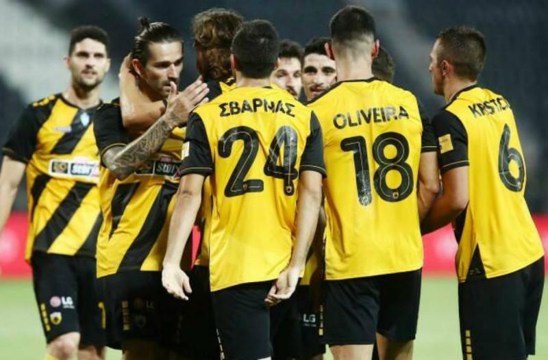 Super League: ΠΑΟΚ-ΑΕΚ 0-2 - Έβαλαν «φωτιά» στη μάχη της 2ης θέσης οι κιτρινόμαυροι