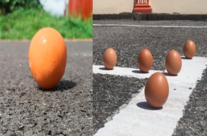 Το «πείραμα» του όρθιου αυγού που δοκίμασαν πολλοί στην έκλειψη ηλίου - Τι άλλο θα δούμε