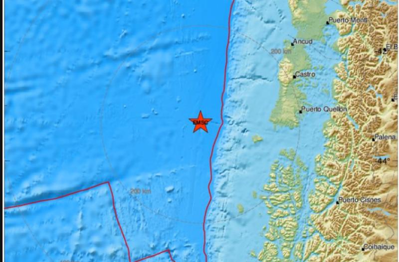 Σεισμός 4,5 Ρίχτερ στη Χιλή