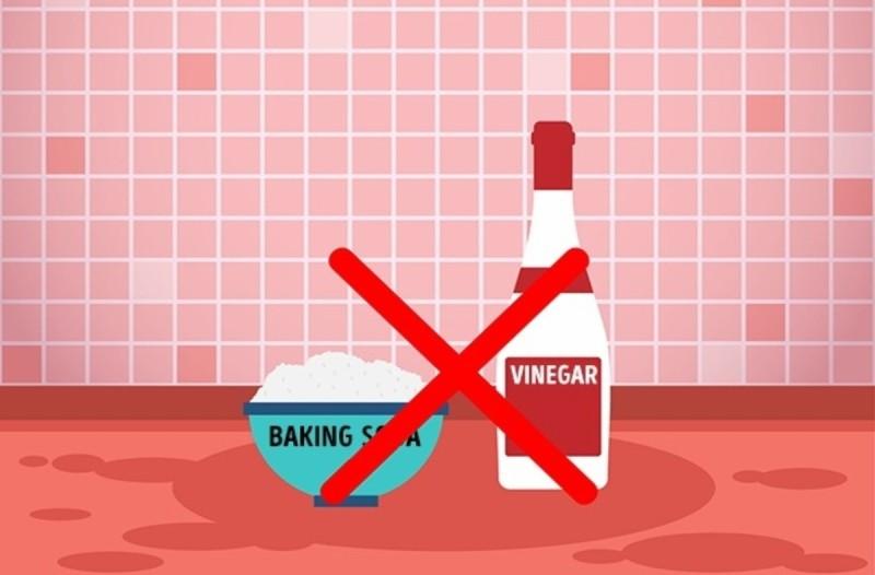 Προσοχή: Μην αναμείξετε ποτέ μαγειρική σόδα με ξύδι - Μπορεί να προκαλέσει...