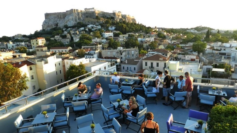 the terrace ακροπολη για καφε