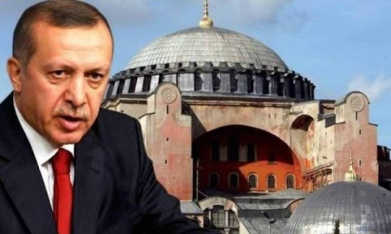 Ερντογάν - Αγιά Σοφιά