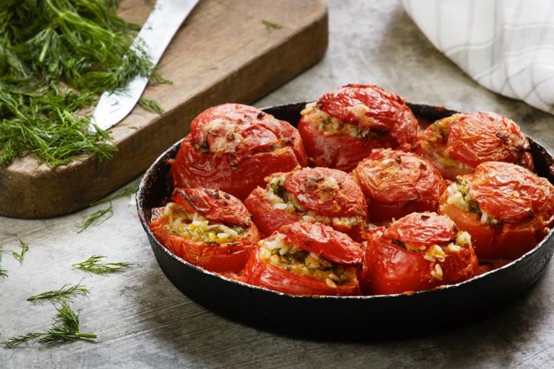 ντομάτες γεμιστά