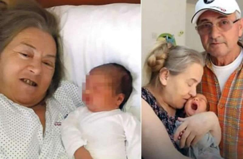 60χρονη γιαγιά γέννησε μετά από προσπάθειες 20 χρόνων - Μετά από λίγες ημέρες ο άντρας της την παράτησε γιατί...