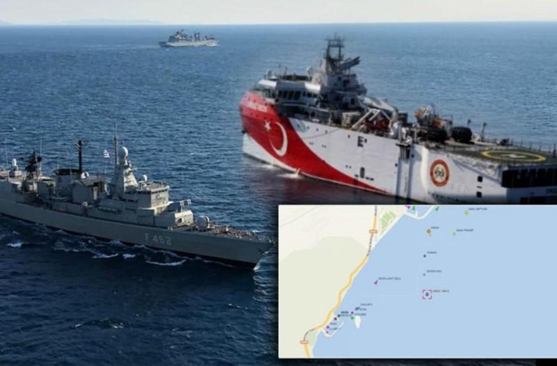 Συναγερμός στο Αιγαίο: Νέα τουρκική πρόκληση με NΑVTEX: Απέπλευσε το Oruc Reis για Κάρπαθο (Video)