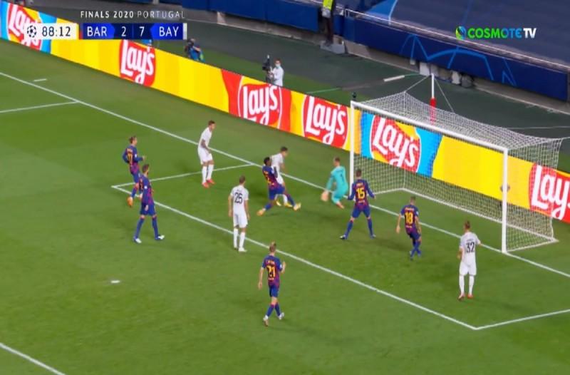 Champions League: Ιστορικός διασυρμός της Μπαρτσελόνα από την Μπάγερν Μονάχου - Την ταπείνωσε με σκορ 8-2! (Video)