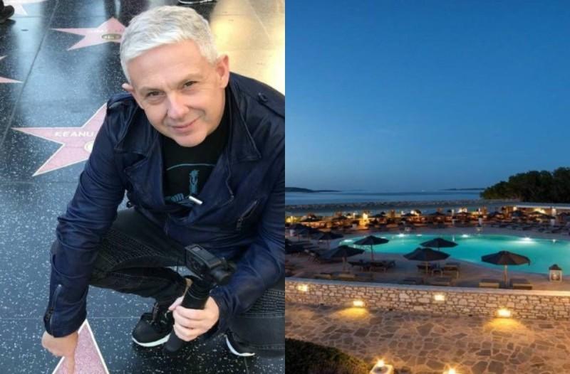 Πάρος: Το «μαγικό» ξενοδοχείο με τη μοναδική θέα που άφησε άναυδο τον Τάσο Δούση