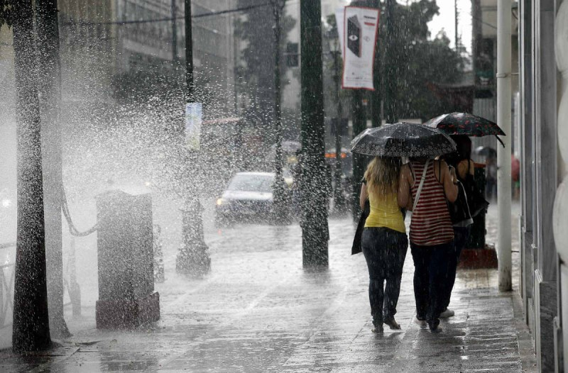 Άστατος ο καιρός και σήμερα - Βροχές και καταιγίδες