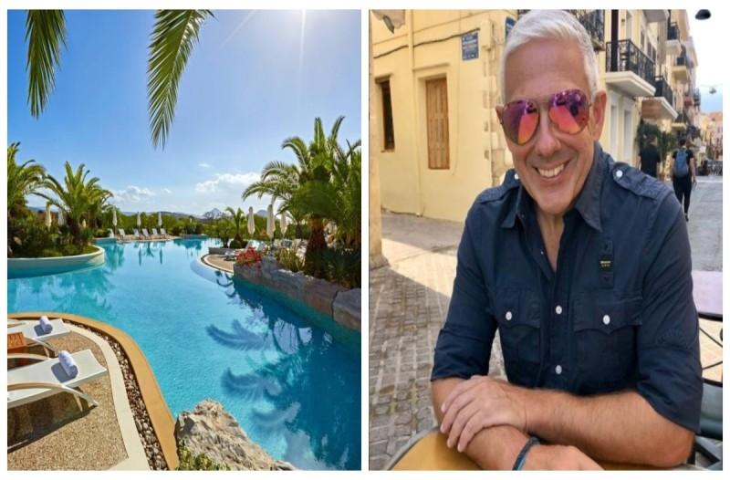 Μεσσηνία: Ο Τάσος Δούσης μας προτείνει το πιο εντυπωσιακό ξενοδοχείο