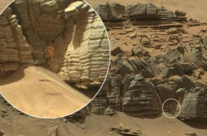 Η φωτογραφία από τον Άρη που έκανε τους λάτρεις του μυστηρίου να κρατούν την ανάσα τους