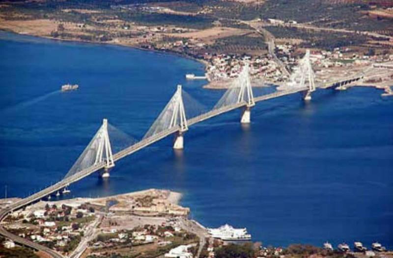Εγκαινιάζεται η γέφυρα Ρίου - Αντίρριου, η μεγαλύτερη καλωδιωτή γέφυρα του κόσμου